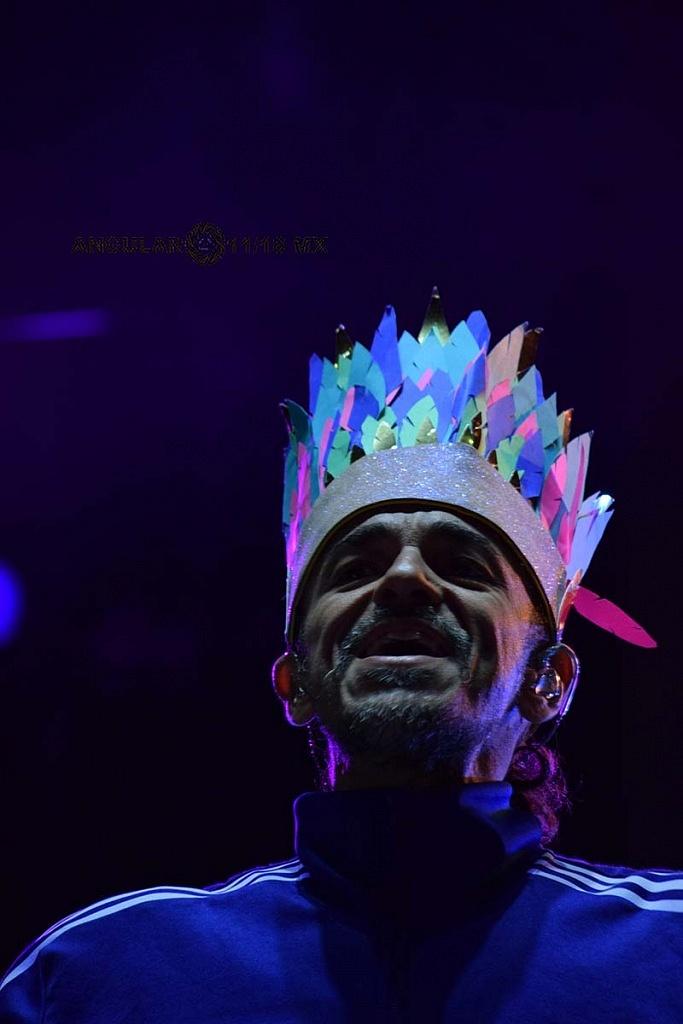 Rubén Albarrán, en la Quinta Edición del Festival Marichela, 2018,