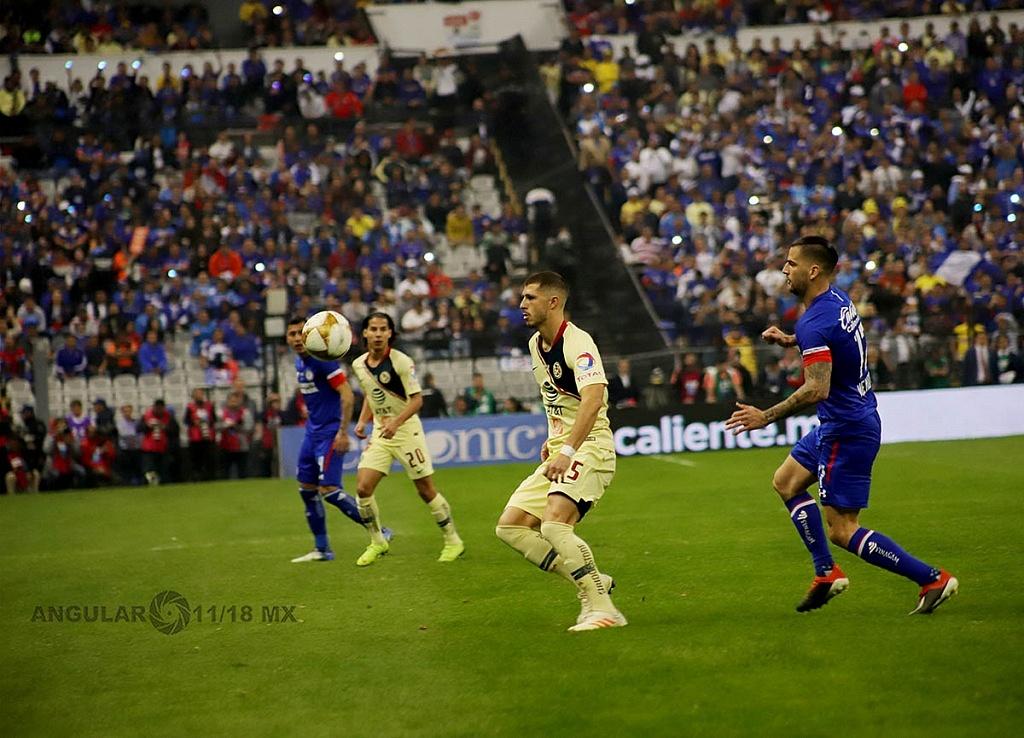 América derrota a Cruz Azul 2-0 en la final del torneo de la liga mx apertura 2018,