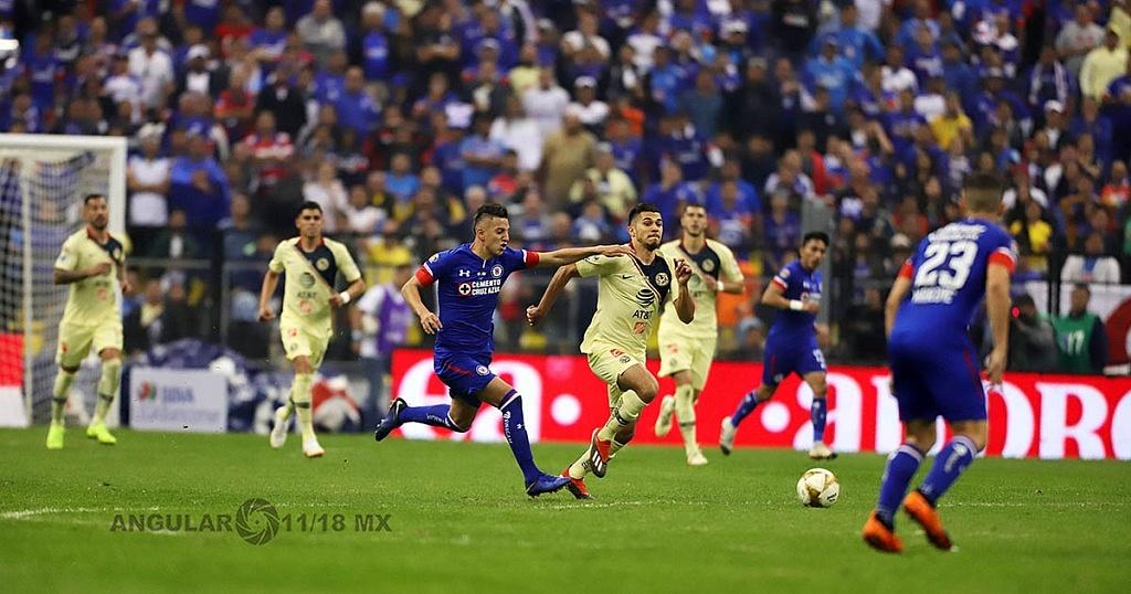 América derrota a Cruz Azul 2-0 en la final del torneo de la liga mx apertura 2018, en el estadio Azteca