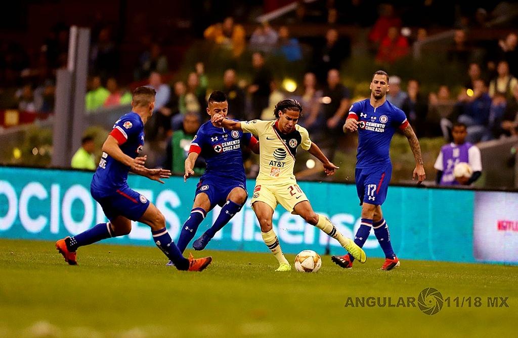 América derrota a Cruz Azul 2-0 en la final del torneo de la liga mx apertura 2018 jugada dividida de Diego Lainez
