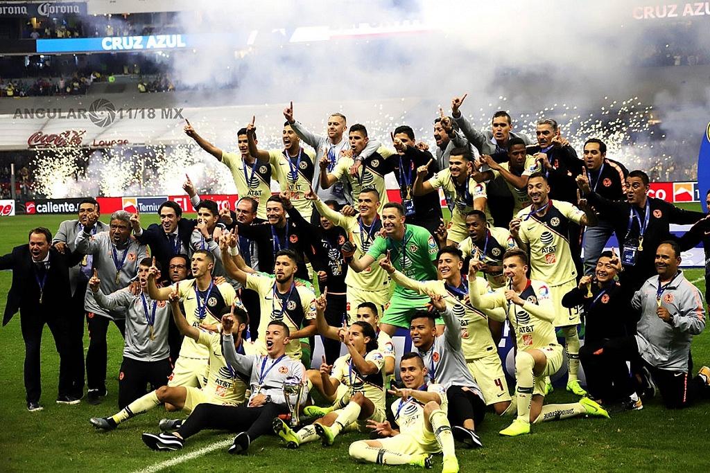 América derrota a Cruz Azul 2-0 en la final del torneo de la liga mx, apertura 2018 y es el nuevo campeón del futbol mexicano