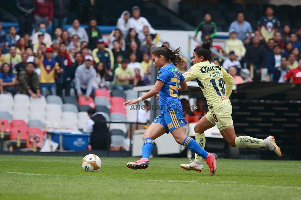 America y Tigres Femenil igual 2-2 en el partido de ida de la gran final apertura 2018