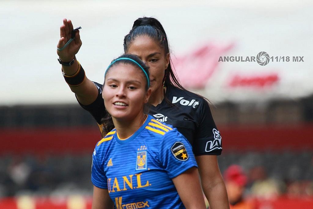 America y Tigres Femenil igual 2-2, en el partido de ida de la gran final apertura 2018