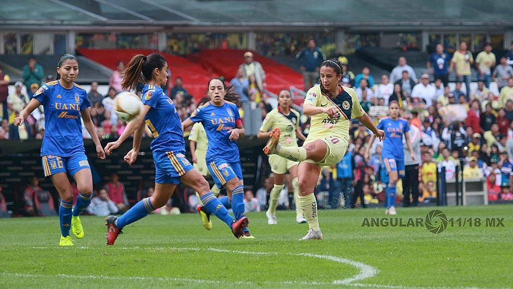 America y Tigres Femenil igual 2-2 en el partido de ida de la gran final del torneo de la liga mx apertura 2018