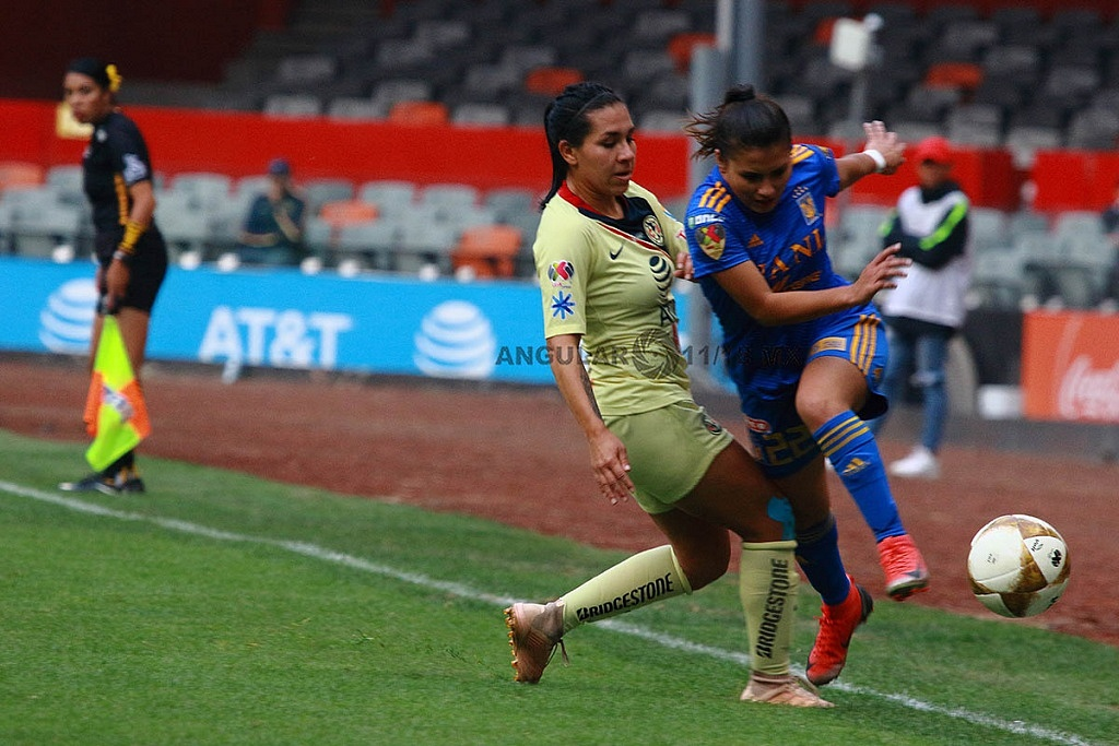 America y Tigres Femenil igual 2-2 en el partido de ida de la gran final del torneo de la liga mx, apertura 2018