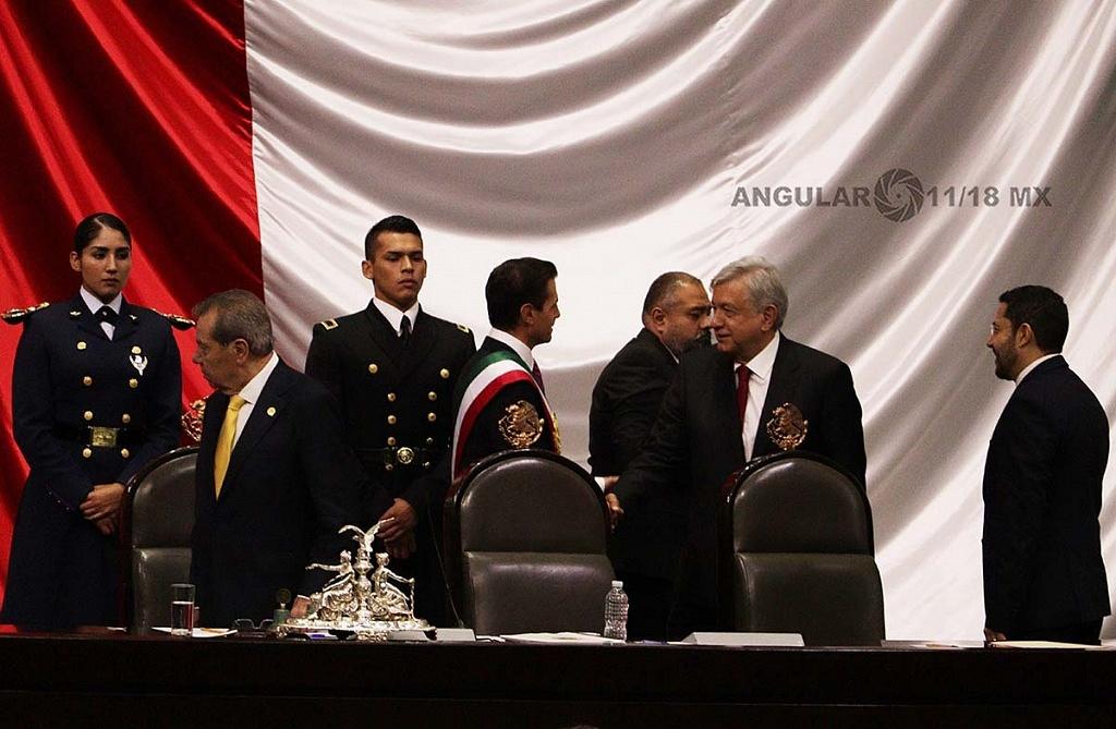 TOMA DE PROTESTA ANDRÉS MANUEL LÓPEZ OBRADOR