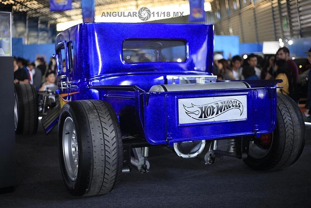 AutoBone Shaker presentado en la celebración por los 50 años de Hot Wheels en la 11ª edición del Salón Hot Wheels