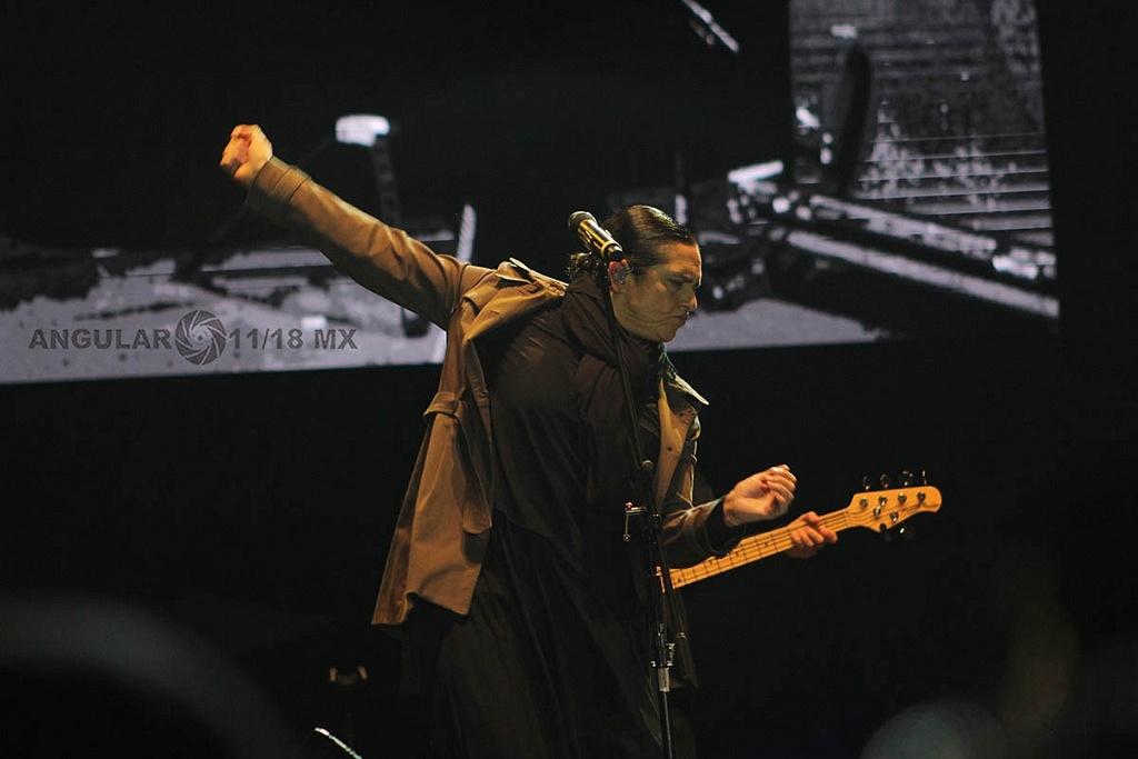 Cecilia Toussaint en el concierto Voces de Mujeres, en la plancha del Zócalo de la Ciudad de México,