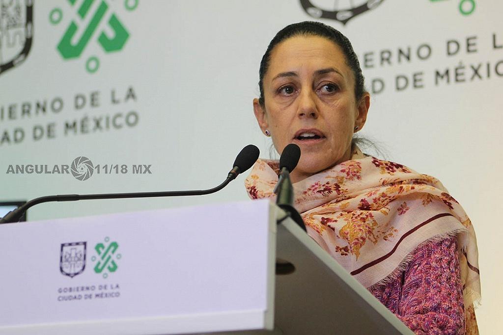 Claudia Sheinbaum Pardo Jefa de Gobierno de la CDMX presentò a Rodrigo Dosal Ulloa como director general del INDEPORTE de la CDMX