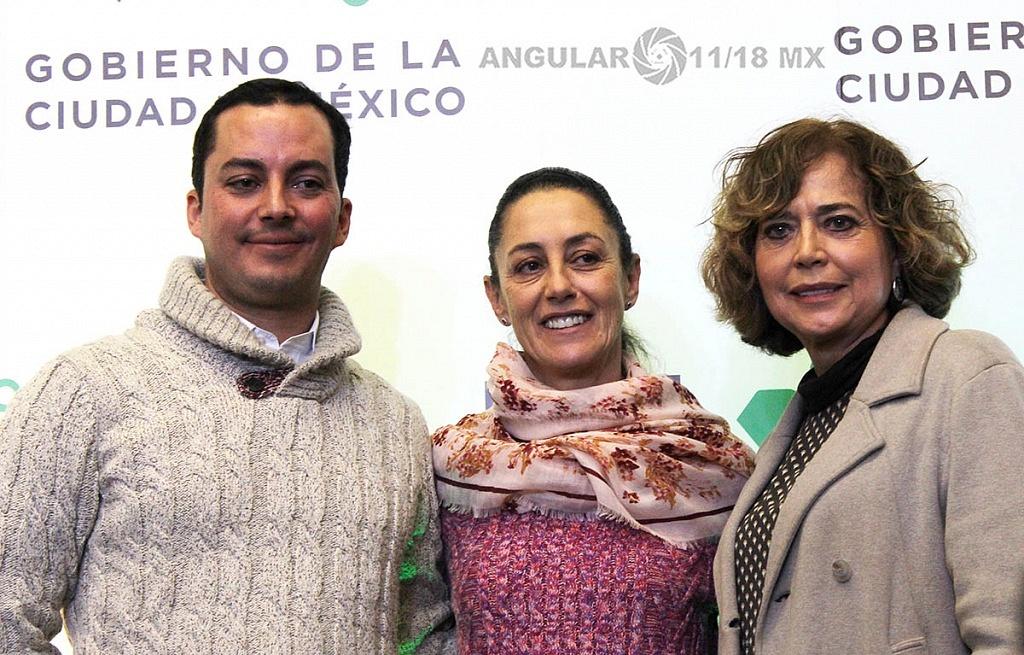 Claudia Sheinbaum Pardo Jefa de Gobierno de la CDMX presentò a Rodrigo Dosal Ulloa, como director general del INDEPORTE de la CDMX
