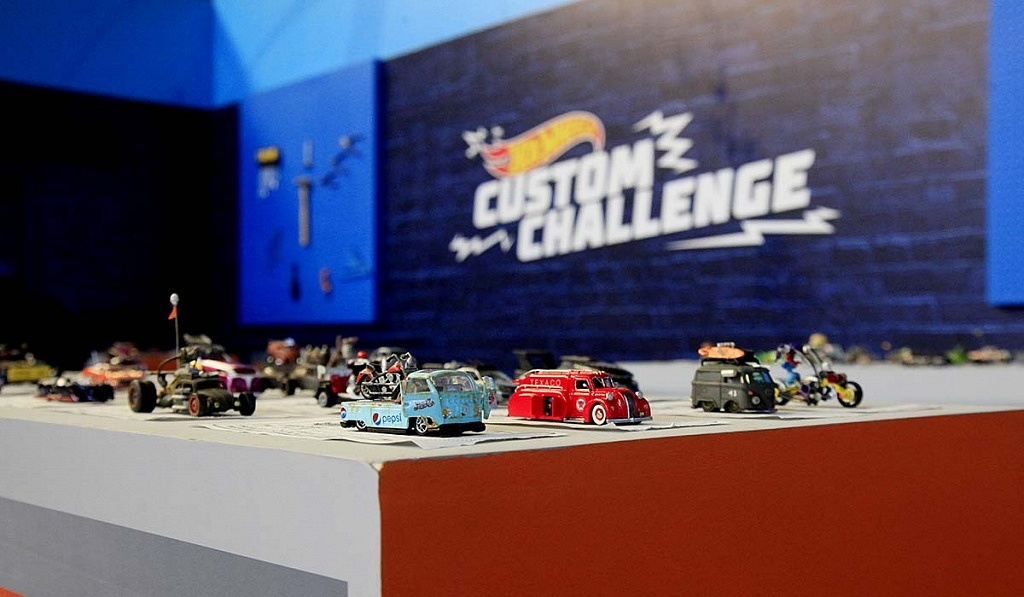 Custom Challenge en la 11ª edición del Salón Hot Wheels CDMX,