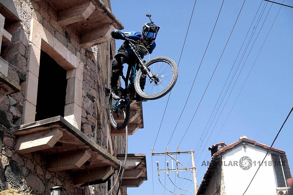 Downhill Taxco 2018, Zona de Salto, Casa de Piedra