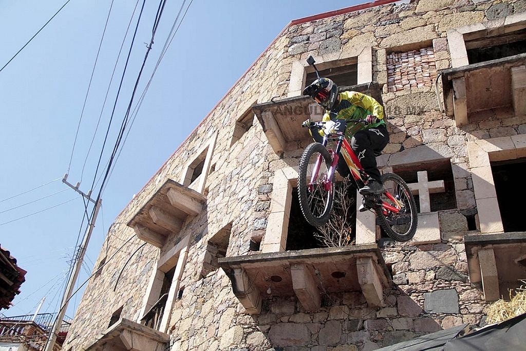 Downhill Taxco 2018 zona de salto