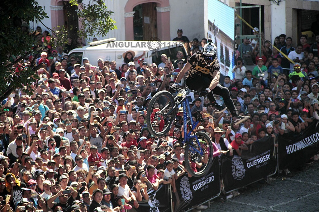 Downhill Taxco 2018, zona de salto,