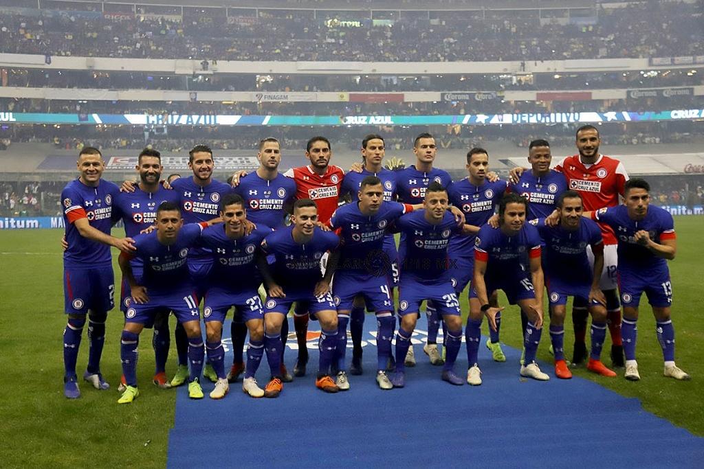 Equipo subcampeón del Cruz Azul del Torneo de la Liga MX Apertura 2018