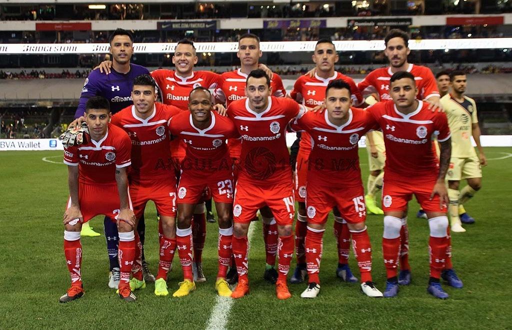 Equipo titular de Toluca en la semifinal del torneo apertura 2018