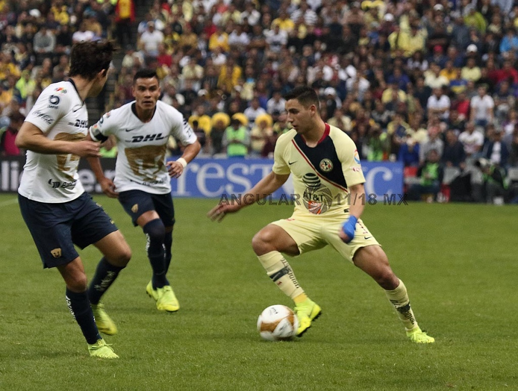 Las Águilas del América golean a los Pumas en el partido de vuelta en la semifinal de la Liga MX Apertura 2018