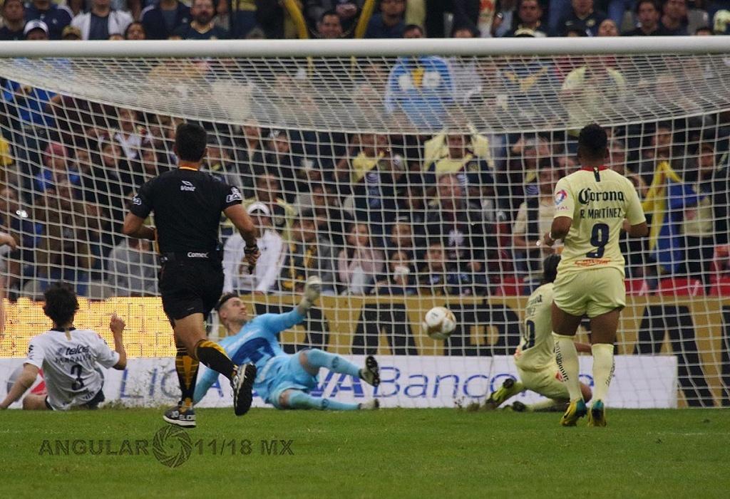 Las Águilas del América, golean a los Pumas en el partido de vuelta en la semifinal de la Liga MX Apertura 2018