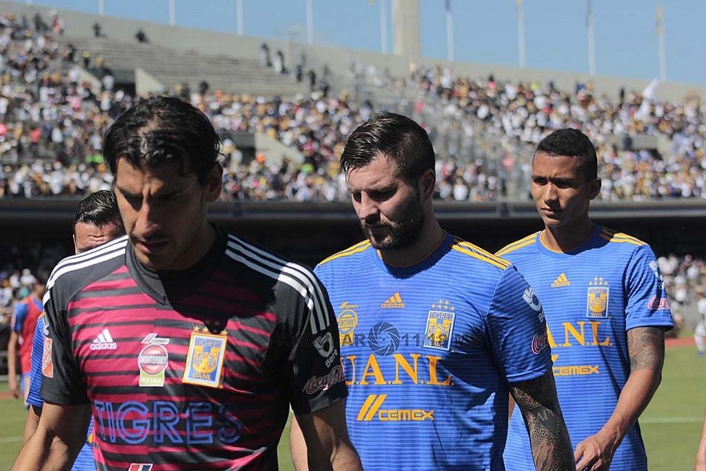 Los Pumas eliminan a Tigres y avanzan a la semifinal del apertura 2018, jugadores de tigres despues del encuentro