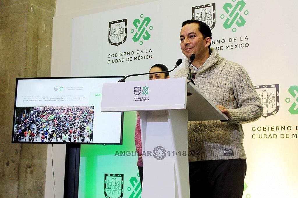 Presenta Jefa de Gobierno a Rodrigo Dosal Ulloa, como director general del INDEPORTE de la Ciudad de México,