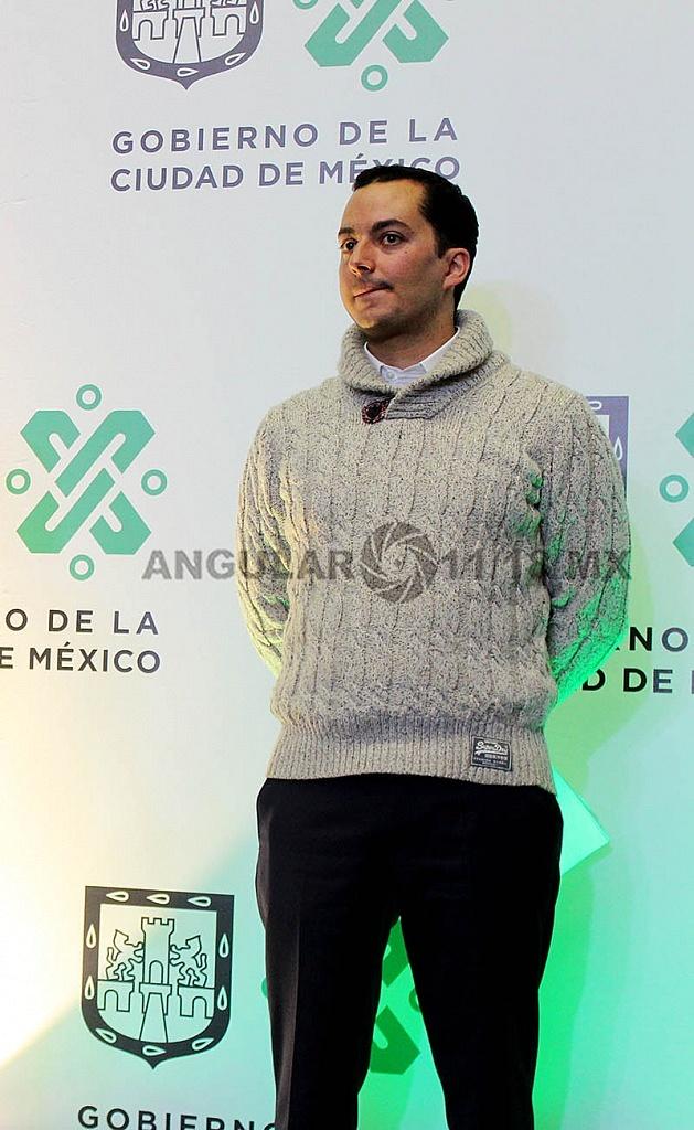 Presenta Jefa de Gobierno a Rodrigo Dosal Ulloa como director general del INDEPORTE de la ciudad de México
