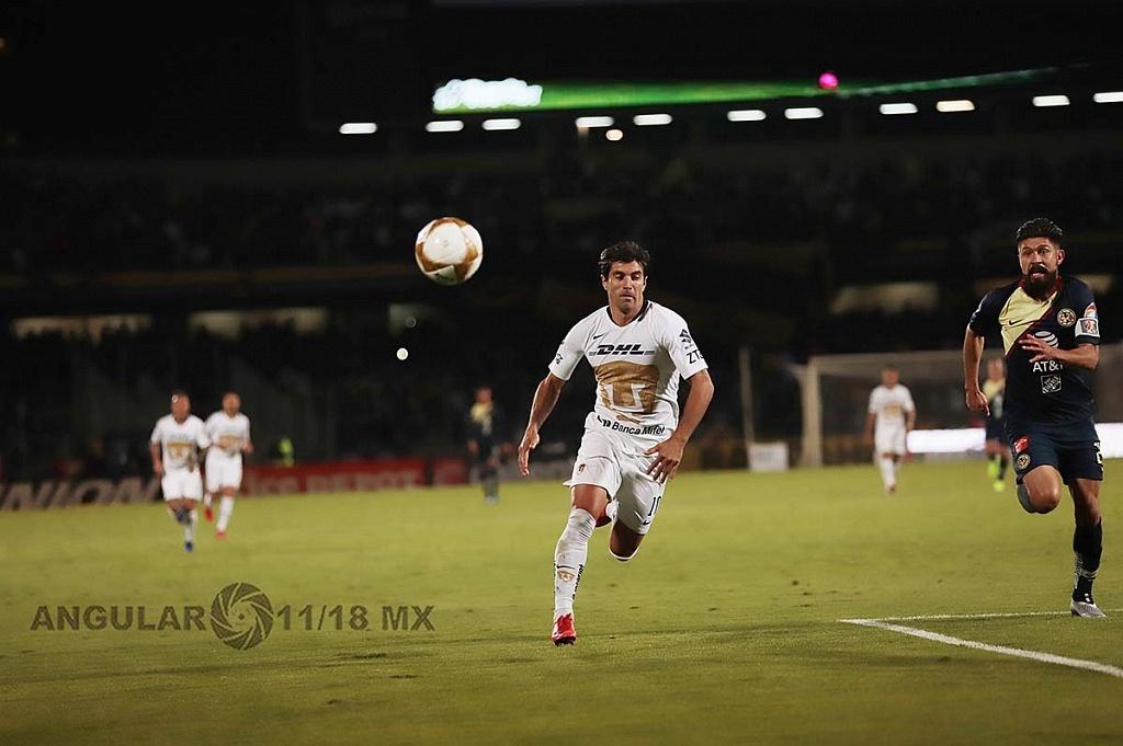 Pumas y el América empatan 1-1 en el juego de ida de las semifinales del torneo de la liga mx apertura 2018,