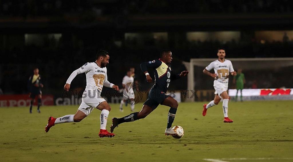 Pumas y el América igualan 1-1 en el juego de ida de las semifinales del torneo de la liga mx apertura, 2018