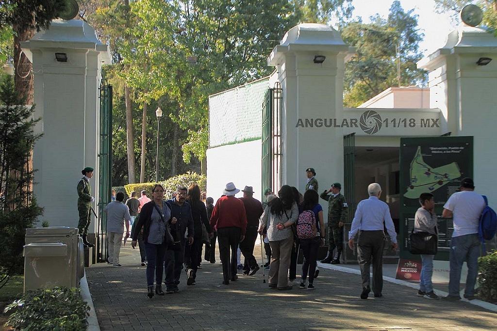 abren a todo el público la Residencia Oficial de Los Pinos
