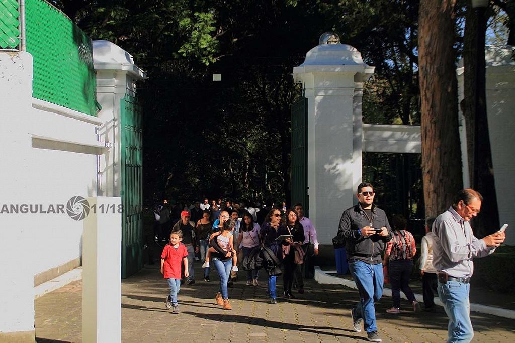 abrieron a todo el público la Residencia Oficial de Los Pinos este sabado 1 de diciembre de 2018,