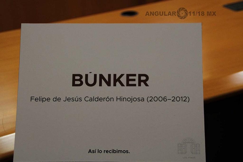 abrieron a todo el público la Residencia Oficial de Los Pinos este sabado 1 de diciembre de 2018, bunker de la residencia