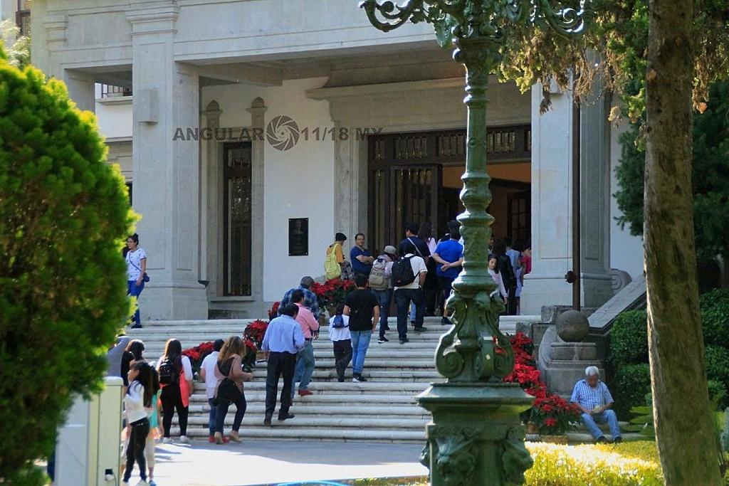 abrieron las puertas de la Residencia Oficial de Los Pinos este sabado 1 de diciembre de 2018