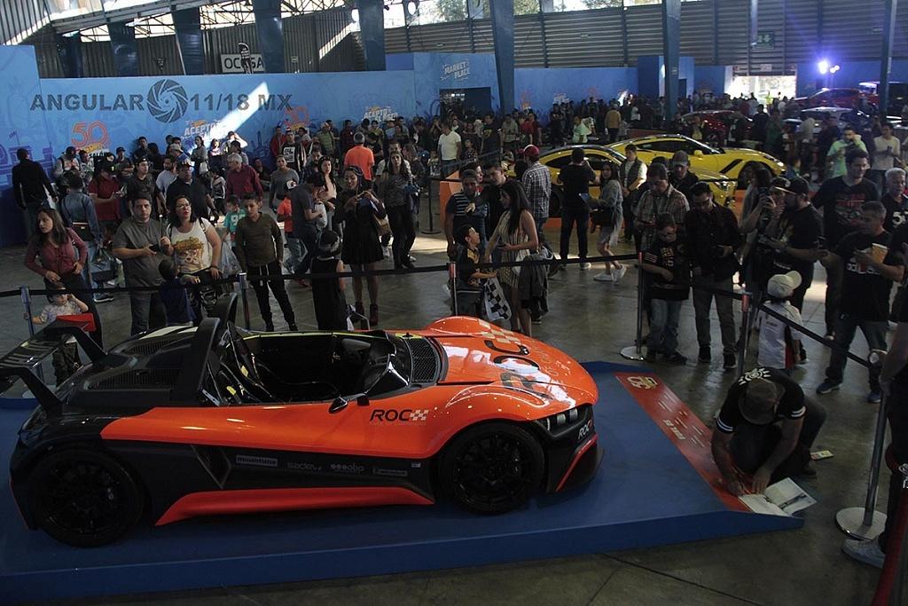 celebración de los 50 años de Hot Wheels, en la 11ª edición del Salón Hot Wheels,