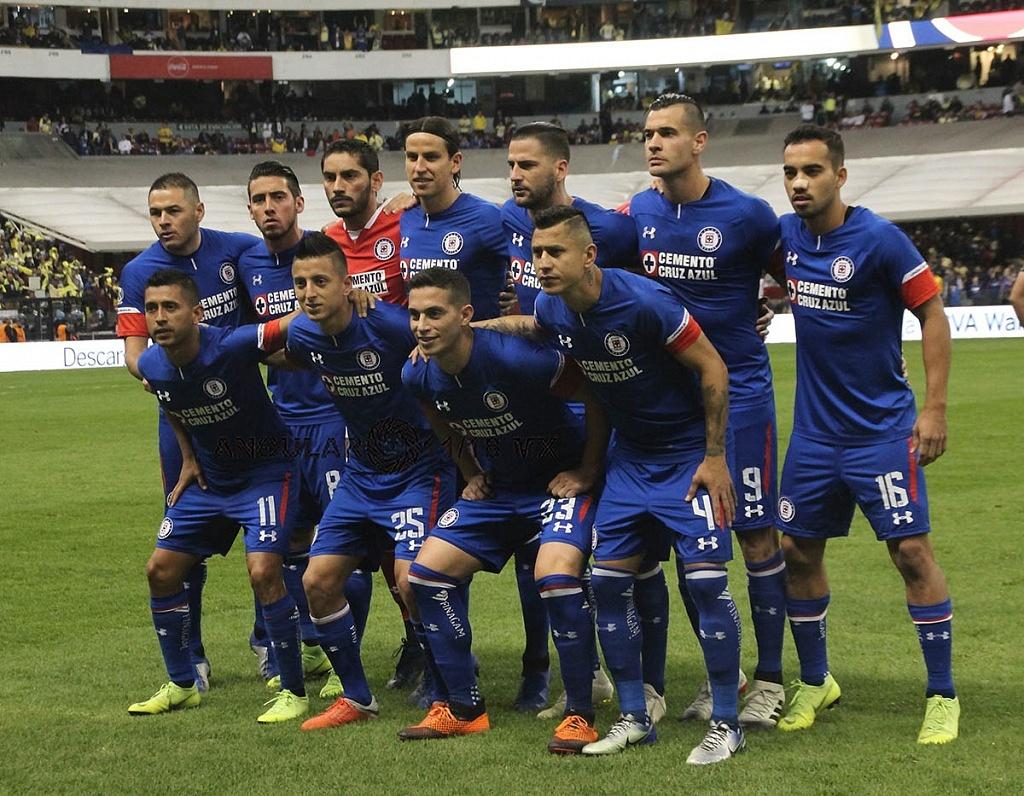 equipo titular de Cruz Azul en la final del torneo de la liga mx apertura 2018 partido de ida