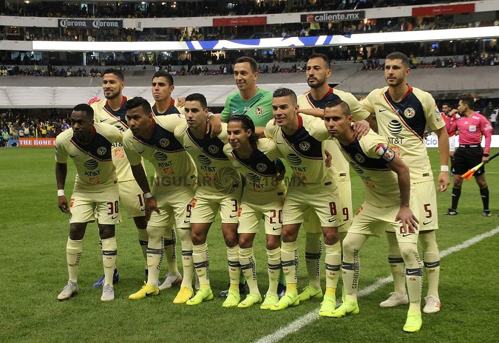 equipo titular del América en la final del torneo de la liga mx apertura 2018 partido de ida