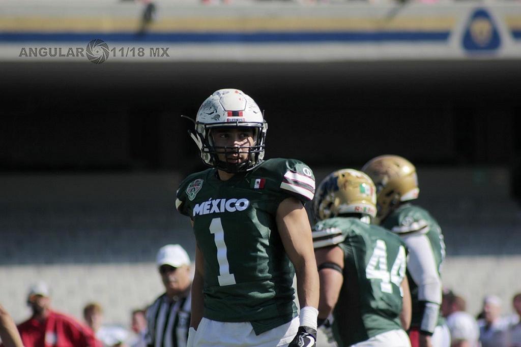 jugador de México en la 45ª edición del Tazón Azteca