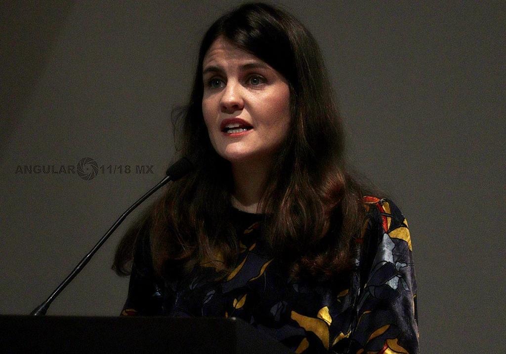 Alexandra Haas, presidenta del CONAPRED en la Conmemoración Anual en Memoria de las Víctimas del Holocausto