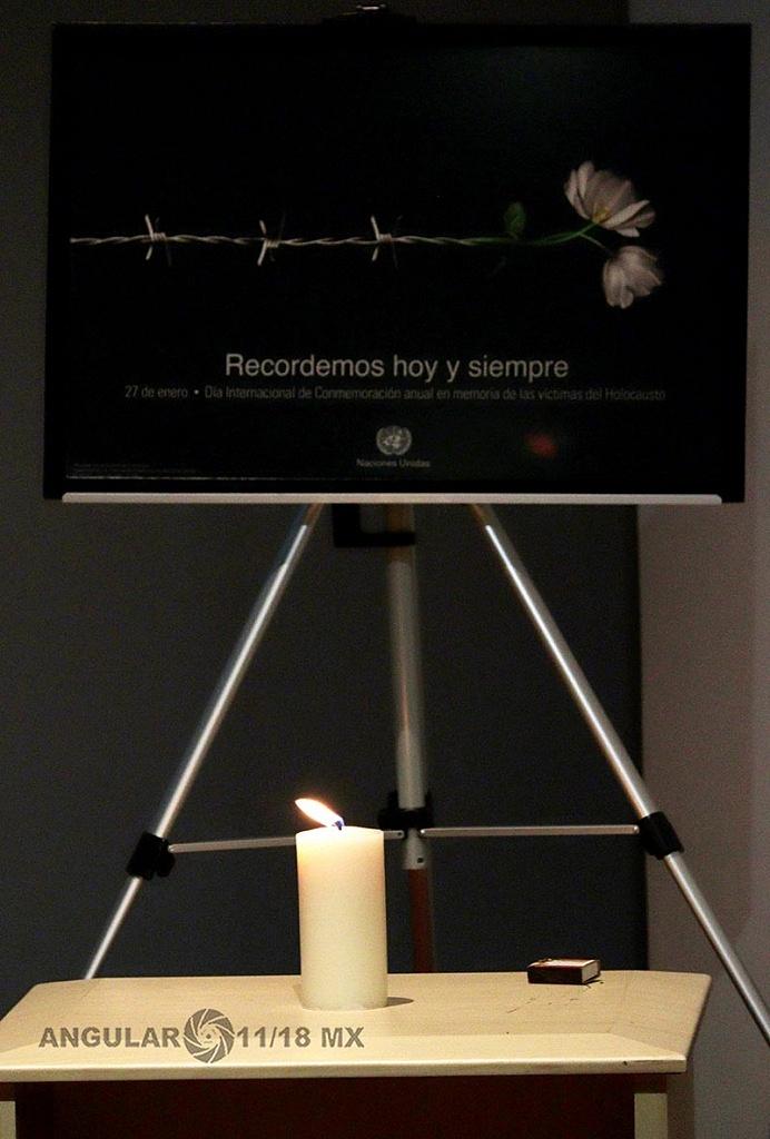 Conmemoración Anual en Memoria de las Víctimas del Holocausto
