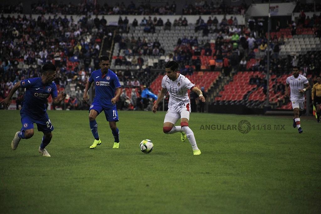 Cruz Azul pierde frente a las Chivas 1-0 en el estadio azteca, en la jornada 2 del torneo de la liga MX Clausura 2019