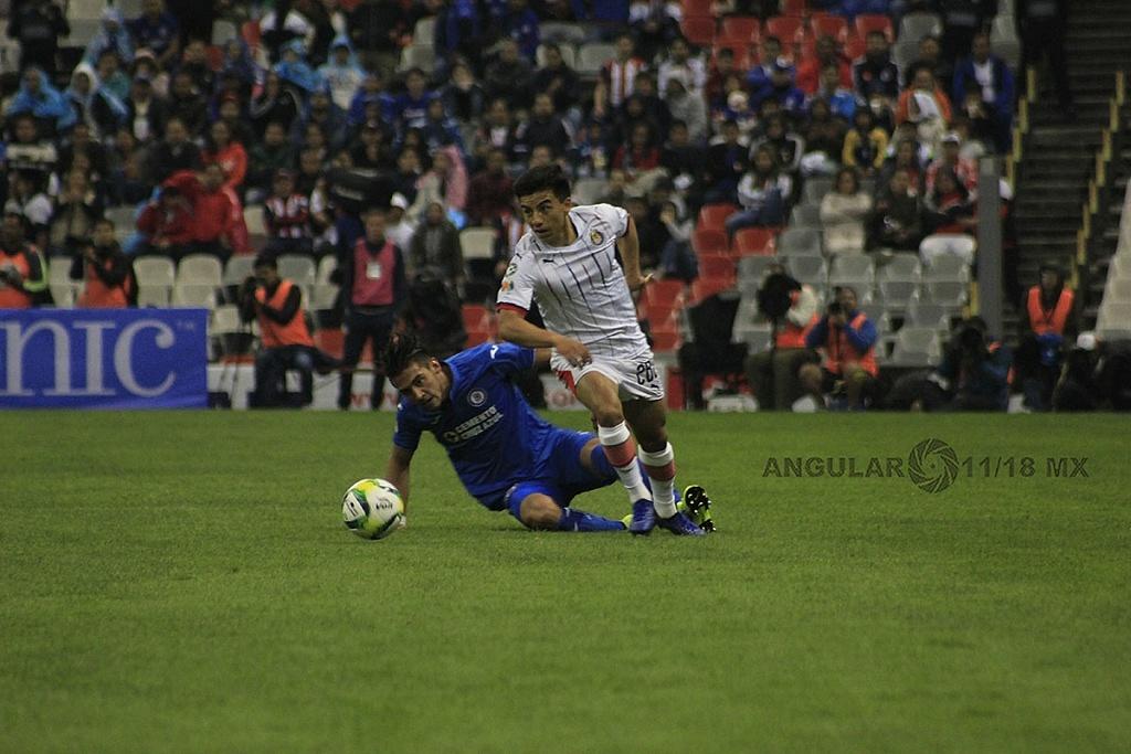 Cruz Azul pierde frente a las Chivas 1-0 en el estadio azteca, en la jornada 2 del torneo de la liga MX Clausura, 2019,