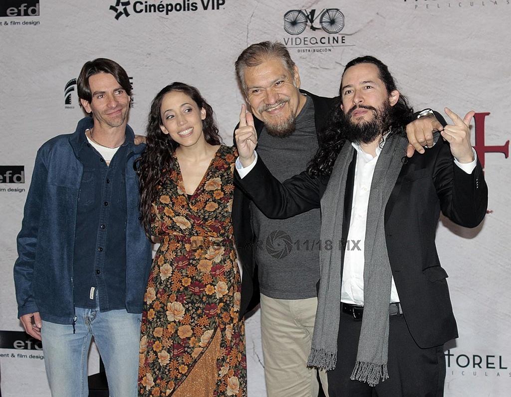 Elenco de la película de Terror, Belzebuth en conferencia de prensa