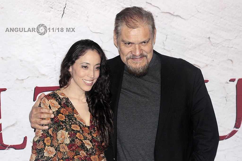 Joaquín Cosío y Yunuem Pardo, protagonistas de la pelicula Belzebuth