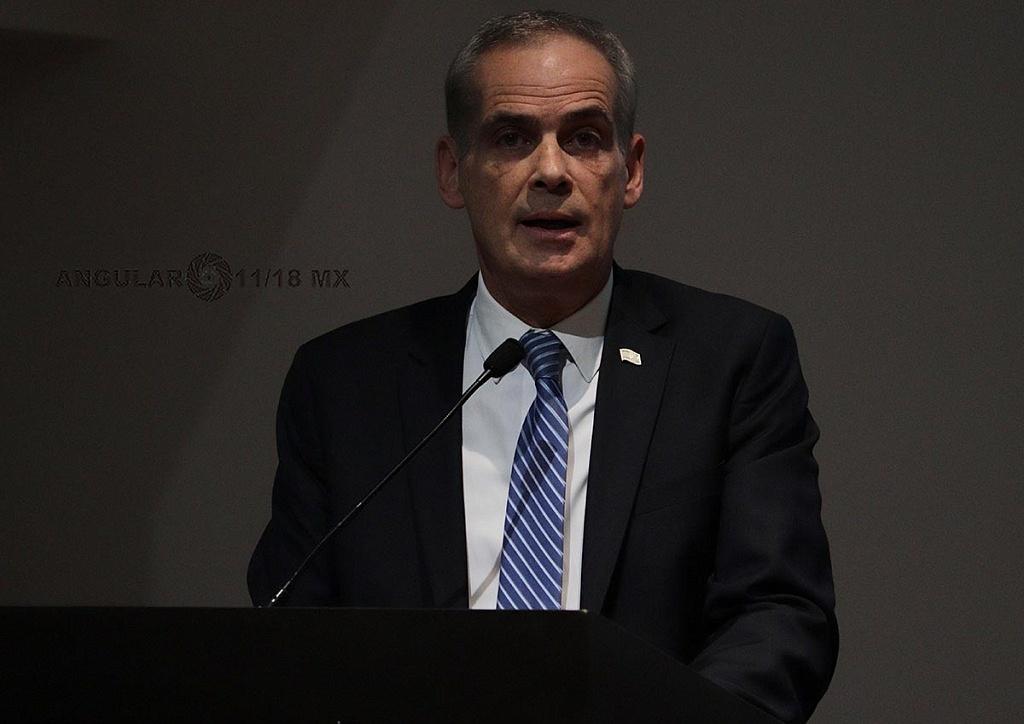 Jonathan Peled, Embajador de Israel en México en la Conmemoración Anual en Memoria de las Víctimas del Holocausto