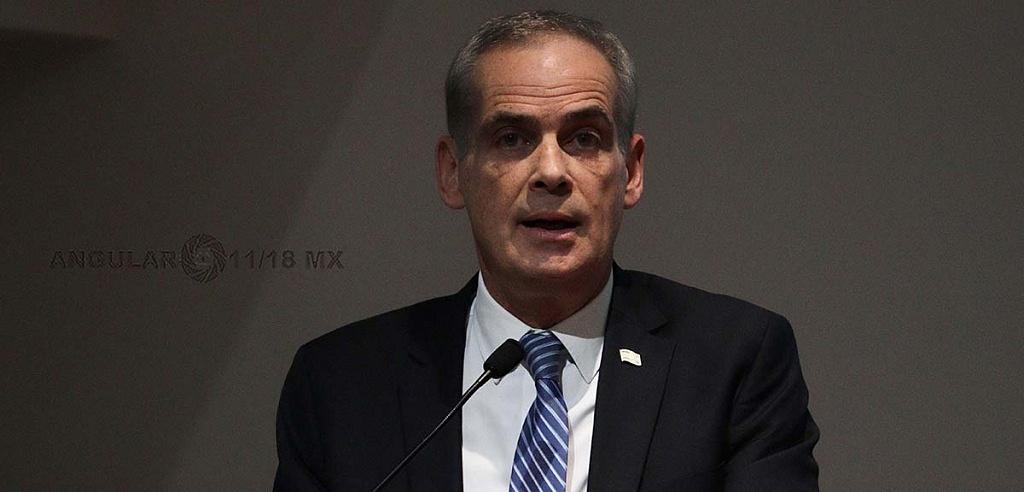 Jonathan Peled, Embajador de Israel en México en la Conmemoración Anual en Memoria de las Víctimas del Holocausto,