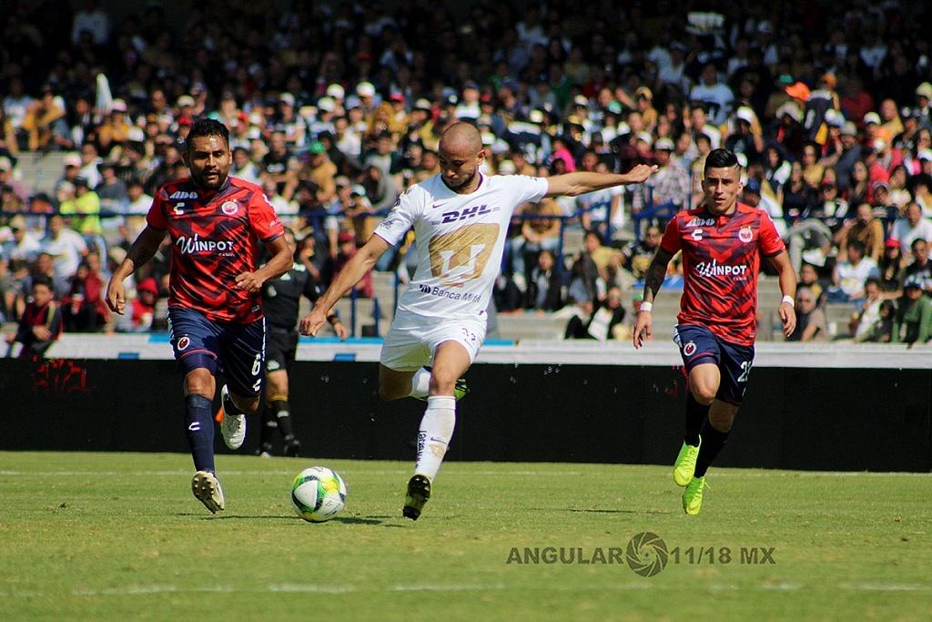 Pumas empata 0-0 ante el Veracruz en la jornada 1 del torneo Clausura 2019