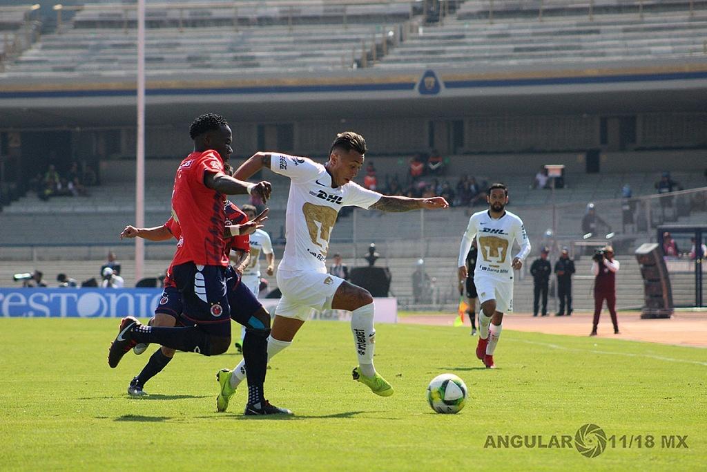 Pumas empata 0-0 ante el Veracruz en la jornada 1, del torneo Clausura 2019 de la Liga MX