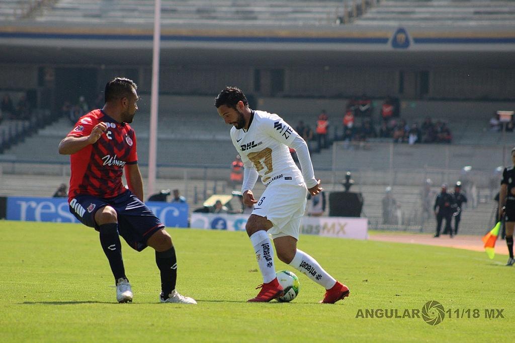 Pumas empata 0-0, ante el Veracruz, en la jornada 1 del torneo Clausura 2019 de la Liga MX