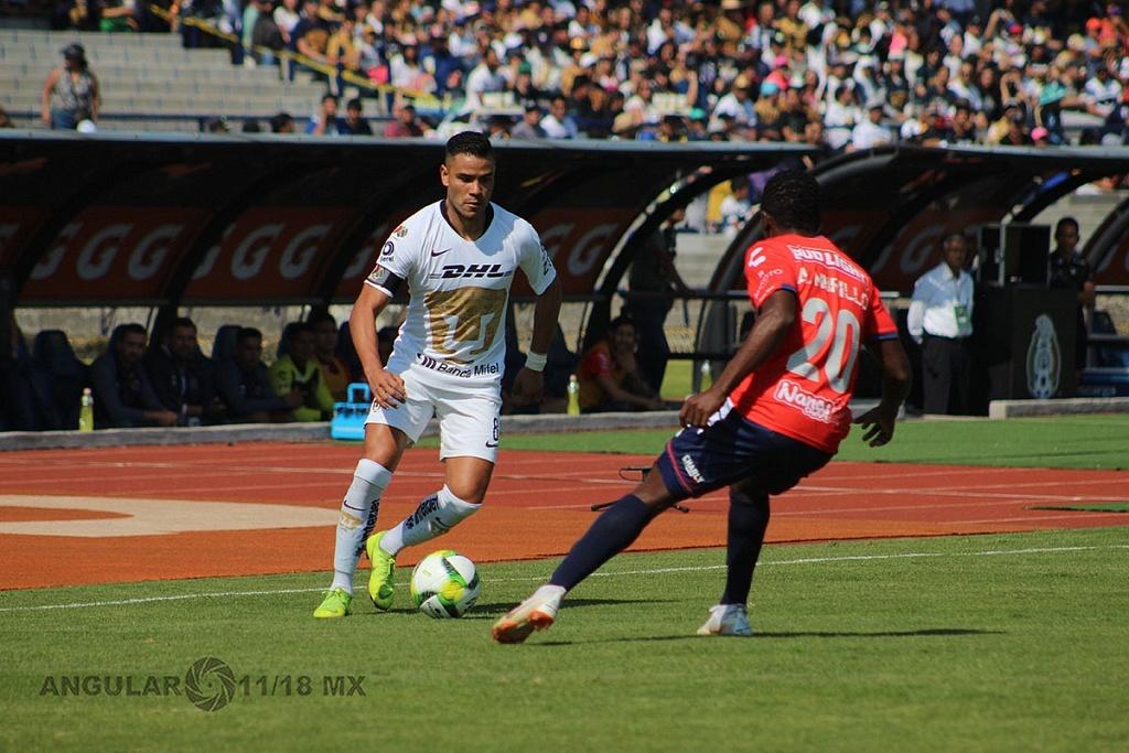 Pumas empata 0-0 ante el Veracruz en la jornada 1 del torneo Clausura 2019 de la Liga MX estadio Olímpico Universitario