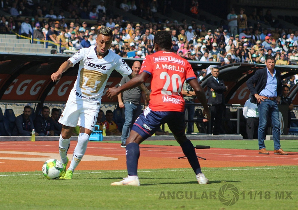 Pumas y Veracruz empatan 0-0 en la jornada 1, del torneo Clausura 2019 de la Liga MX, estadio Olímpico Universitario