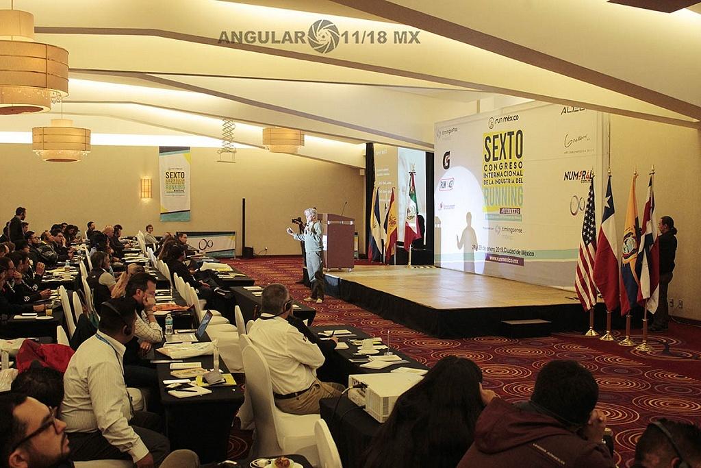 Sexto Congreso Internacional de la Industria del Running 2019, conferencias