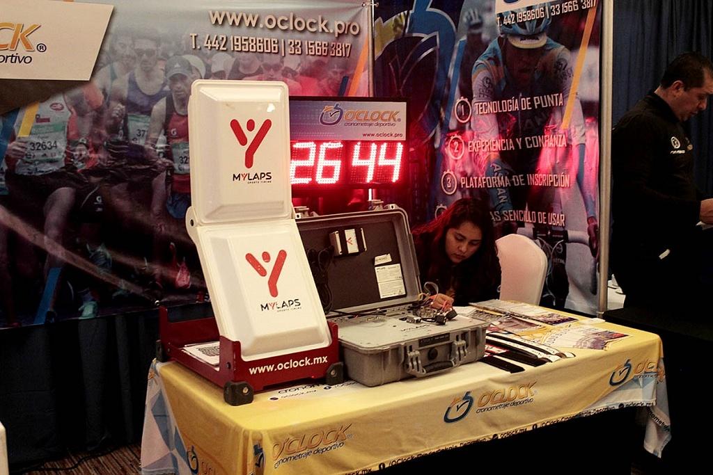 Sexto Congreso Internacional de la Industria del Running, stans